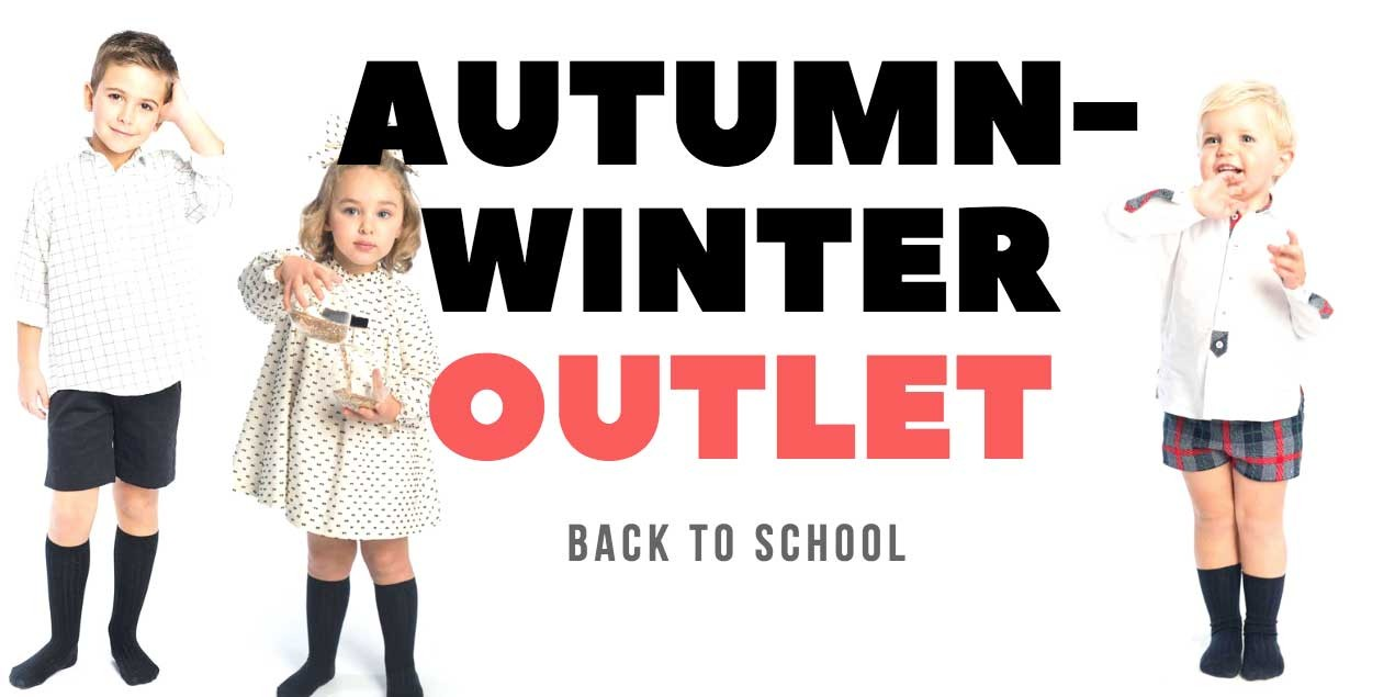 sales kids fashion: AUTUMN WINTER 2020